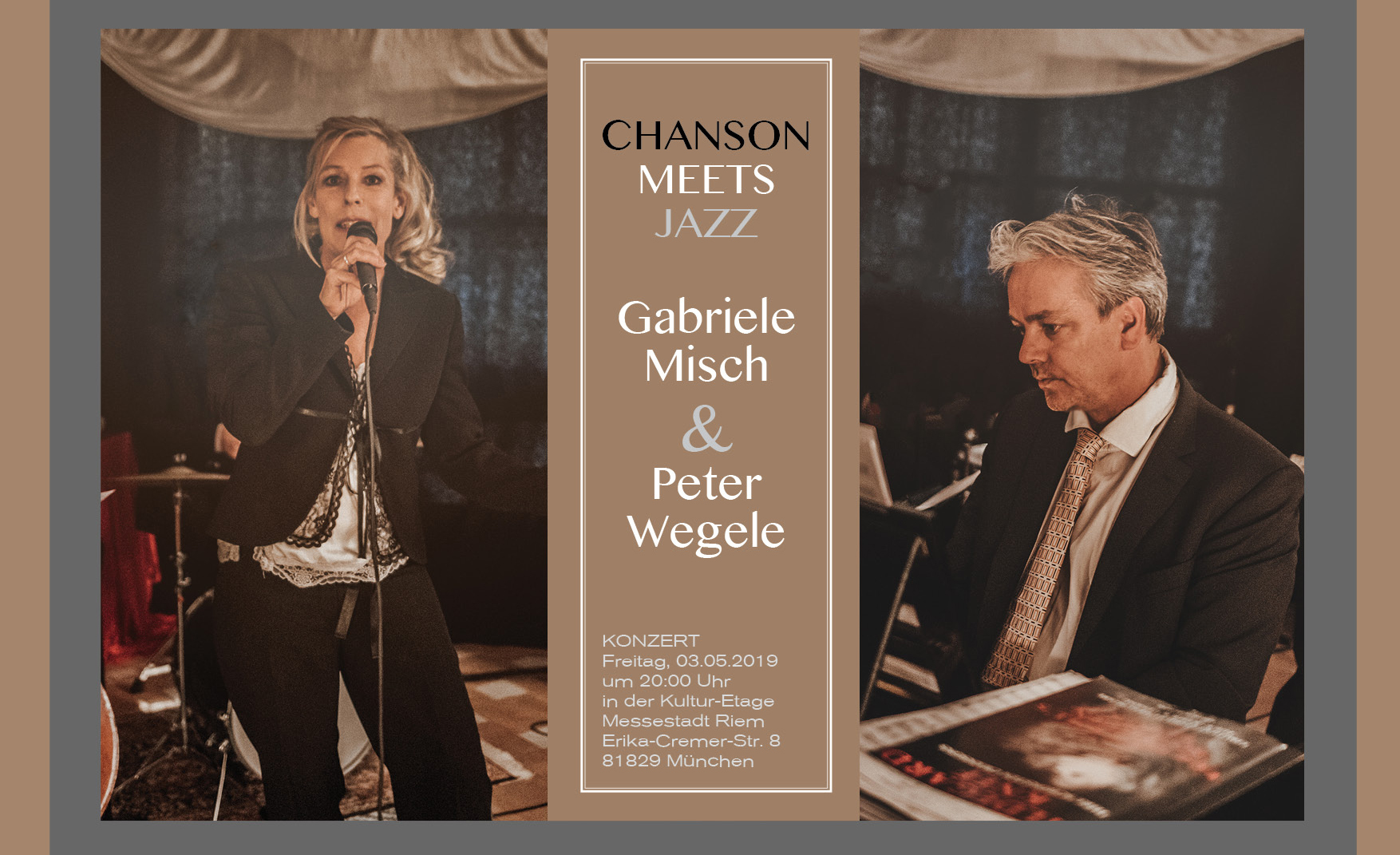 Chanson meets Jazz Duo